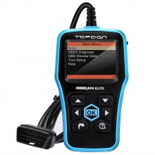 TOPDON Ultrascan OBDCAN Elite OBD2 Scanner Support Checking Engine Light ABS/SRS Simple Operation for Reading and Clearing Car Trouble Code