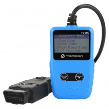 Topdon TD309 Car Diagnostic Scan Tool OBDII Reset Code Reader Tool Portable Diagnostic Tool for Reading and Clearing DTCs