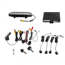 Video Parking Sensor With Camera and 7 inch TFT Monitor