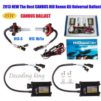 Buy 2013 Best 35W CANBUS BI-XENON H4 9004 9007 9003 HB2 HI-LO HID CONVERSION KIT BALLAST AC 12V