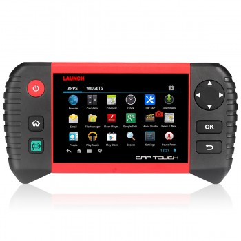 Buy 2016 Customized LAUNCH CRP TOUCH Bluetooth/Wifi Scanner Full System internet Automotive Diagnostic Scan Tools runs Android Better CRP129 / CRP229