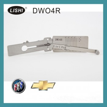 Buy LISHI Buick (LOVA/Excelle/GL8) Chevy DWO4R 2-in-1 Auto Pick Decoder