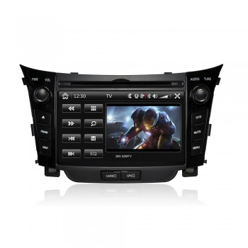CASKA CA392-KR7 CAR DVD Player fit Hyundai i30 2010-2013 OEM standard car in-dash system High quality auto GPS multimedia free GPS Navigation Sygic map