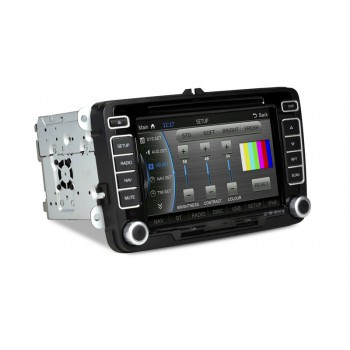 "CASKA OUTLET Car DVD CA069-UQ8 VW universal series OEM standard car in-dash system 7"" touch screen 800X480 Windows CE 6.0 Navigation Free Update Sygic MAP"