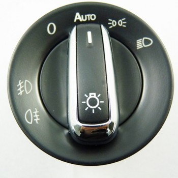 Buy Chrome Euro Head Light Switch VW PASSAT CC B6 GOLF JETTA MK5 MK6