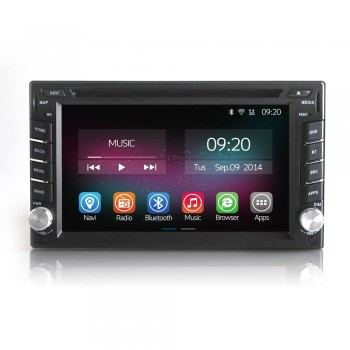 Buy Ownice 6.2 Inch Car DVD Player Universal 2 Din Android 4.4.2 Quad Core Multimedia Navigation OL-6666