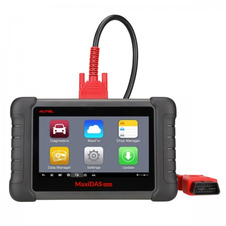 Autel Coding Scanner MaxiDas DS808(Advanced Version of DS708) Automotive OBD2 Scanner Diagnostic Tool Multi-language System