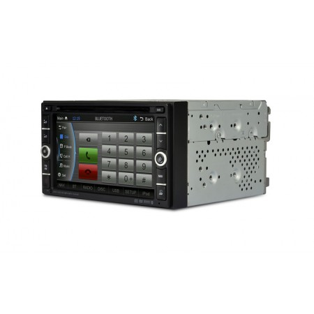 "CASKA OUTLET Car DVD CA1624-LQ5 2 din universal series OEM standard car in-dash system 6.2"" touch screen 800X480 Windows CE 6.0 Navigation Free Update Sygic MAP"