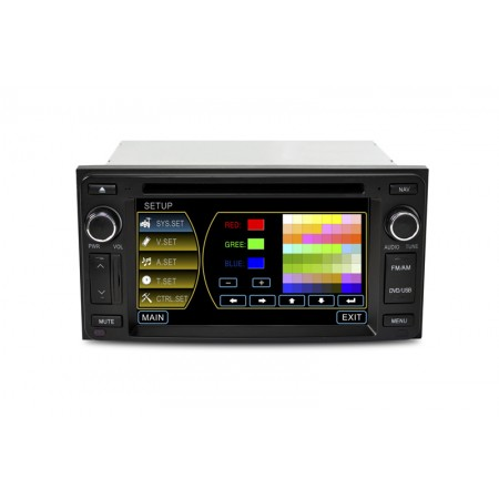 "CASKA OUTLET Car DVD CA3619G Toyota universal Model OEM standard car in-dash system 6.2"" touch screen 800X480 Windows CE 5.0 Navigation Free Update Sygic MAP"