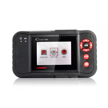 Original Launch Creader VII+ Auto Code Reader OBDII/EOBD Auto Scanner CReader 7 Plus Equal to CRP123 Function