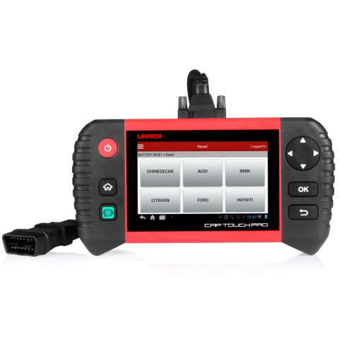 2019 New LAUNCH CRP TOUCH PRO Bluetooth / Wifi Scanner Full System OBDII /  EOBD Automotive Diagnostic Scan Tools runs on the Android System advanced