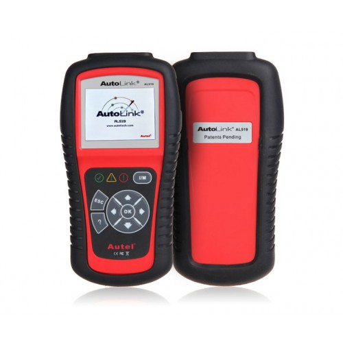 Autel AutoLink AL519 OBDII/EOBD Code Reader AL519 Autel New Generation OBD2/CAN DIY Scan Tool Check Engine Light