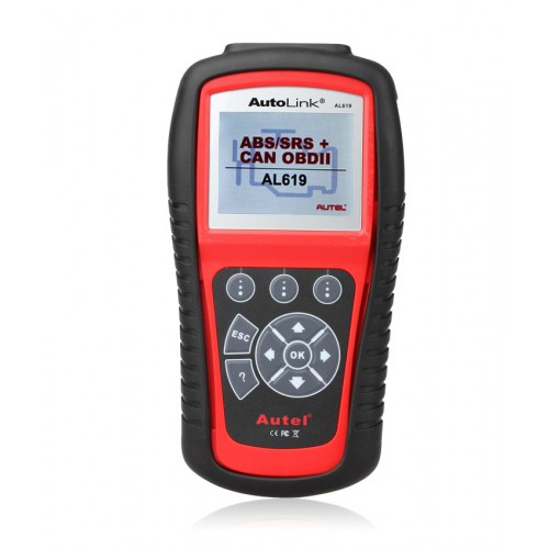AUTEL AutoLink ML619(AL619) ABS / SRS CAN OBDII Car Diagnostic Scan Tool with TFT color display