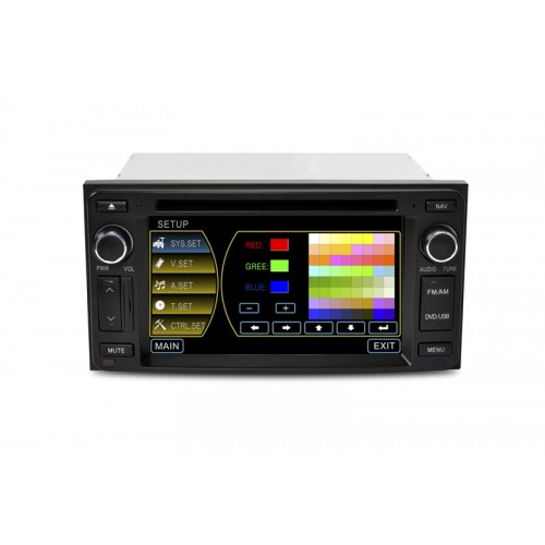 """CASKA OUTLET Car DVD CA3619G For Toyota universal Model OEM standard car in-dash system 6.2"""" touch screen 800X480 Windows CE 5.0 Navigation Free Update Sygic MAP"""