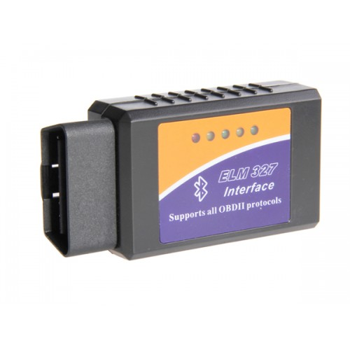 ELM 327 Bluetooth OBDII V1.5 CAN-BUS Diagnostic Interface Scanner Connector