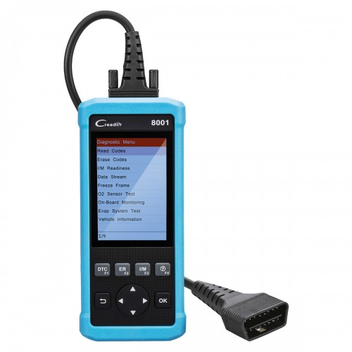 Launch CReader 8001 Car Code Reader Full OBDII/EOBD Functions Auto Diagnostic Scanner Scan Tool